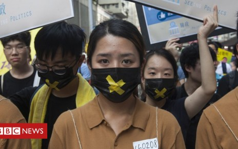 102280352 mediaitem102280351 - Hong Kong pro-democracy protests draw low turnout