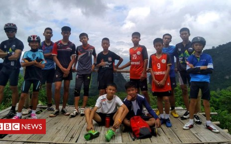 102301615 363c0ae6 7b55 4d09 8e47 30e0289128ee - Thailand cave rescue: Boys tell parents 'don't worry' in letters