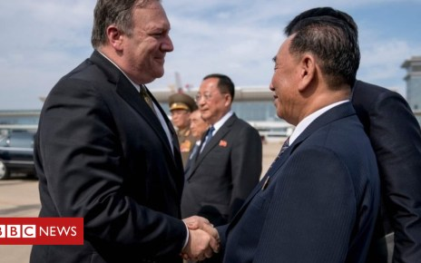 102424262 mediaitem102424261 - North Korea nuclear deal: Pompeo sees 'progress' after talks