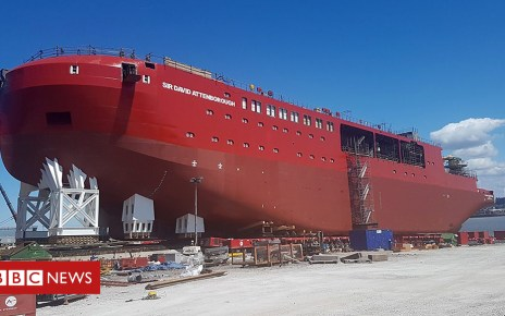 102486265 p06dh61k - Sir David Attenborough: Getting UK polar ship ready for big day