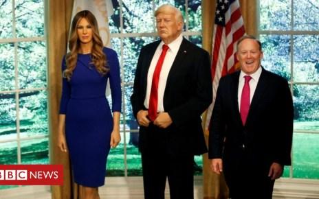 102506212 tv046416289 - Trump 'riding a unicorn over a rainbow', says ex-spokesman Spicer