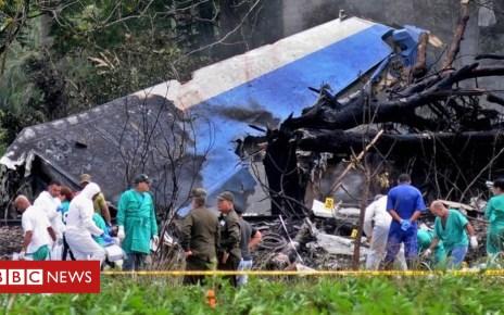 102560647 bada1f75 8993 48b5 b02e 1969d576a9c8 - Cuba plane crash: Leasing company blames Mexican crew