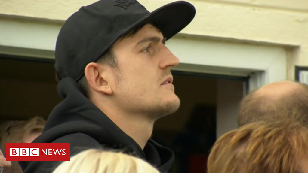 102573567 maguire2 - World Cup star Harry Maguire watches brothers at Gainsborough Trinity