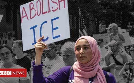 102602092 p06f3mzt - 'Abolish ICE': Could US migrant detention force be broken up?