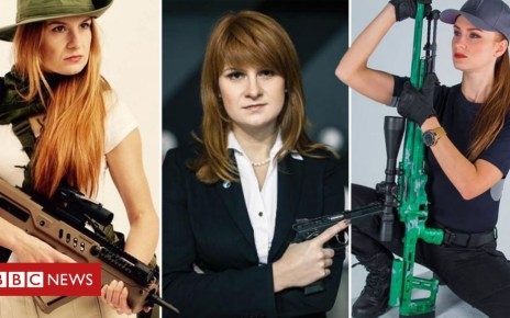 102616042 composite image - Maria Butina: Russian gun activist at heart of US Kremlin row