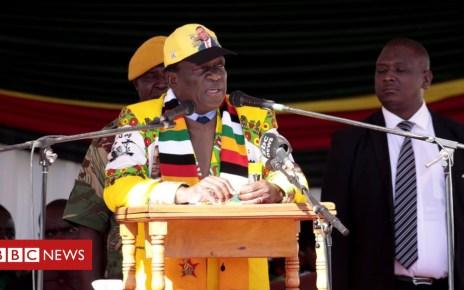 102638543 hi048278203 - Zimbabwe's President Mnangagwa appeals for racial unity ahead of election