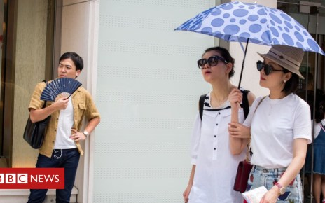 102649318 5580b662 b248 480d 89ba e147949cb58d - Japan heatwave: Temperature breaks national record