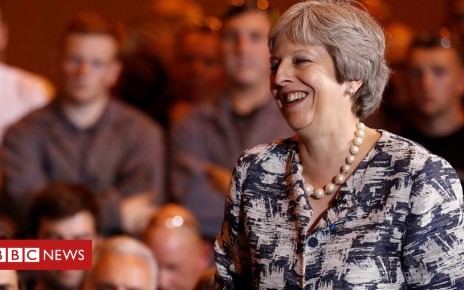 102657718 p06fhz48 - Theresa May: I like NCIS, cooking and walking
