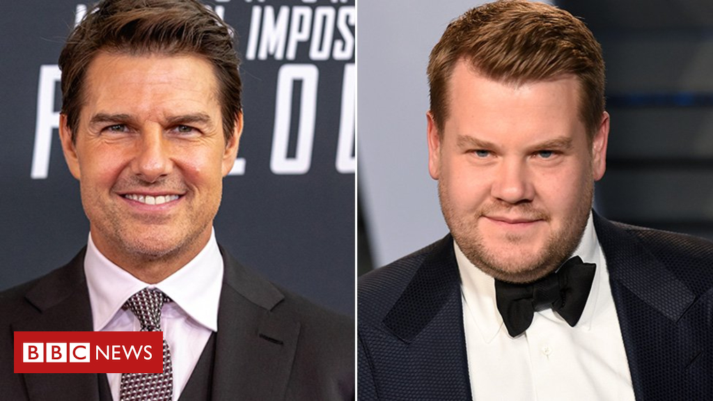 102720155 tom james - Tom Cruise forces James Corden to do a skydive