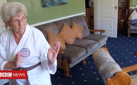 102726185 p06fwp8p - Meet the medal-winning 'Ninja Nan'