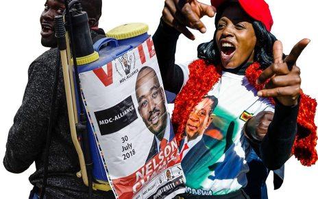 p06fnskz - Zimbabwe election: Voters set for first ballot without Mugabe