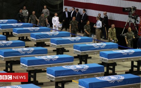 102781508 23049e8c df61 4ad3 b705 7c67d9b10e0f - Korea remains: US finds one 'dog tag' among war dead returned by North Korea