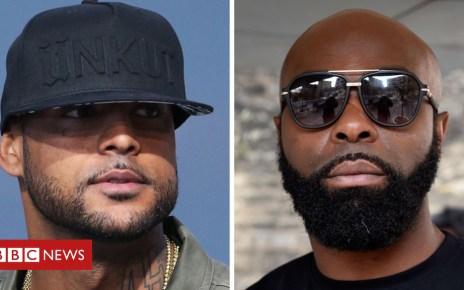 102792300 hi048443875 - French rappers Booba and Kaaris brawl at Paris airport