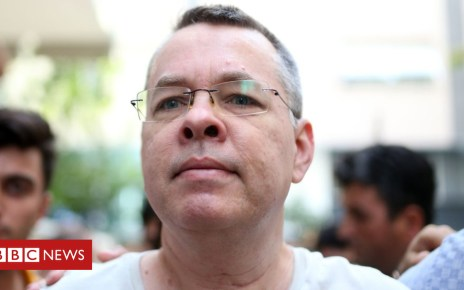 102793091 hi048339194 - Andrew Brunson: US hits Turkey with sanctions over jailed pastor