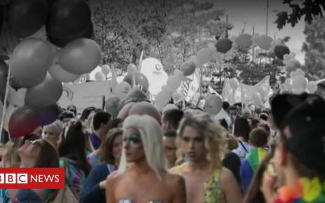 102822766 p06ghp1g - How Belfast's Pride Parade has evolved