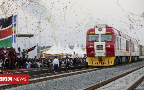 102952199 sgr - Kenya fraud charges over Chinese-funded $3bn railway