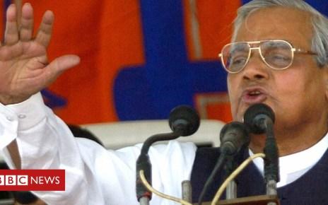 103034197 mediaitem103034196 - Atal Behari Vajpayee: Former India PM dies at 93