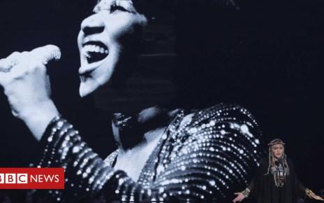 103106102 madreu - MTV VMAs: Madonna's 'self-indulgent' Aretha tribute & Camila Cabello wins