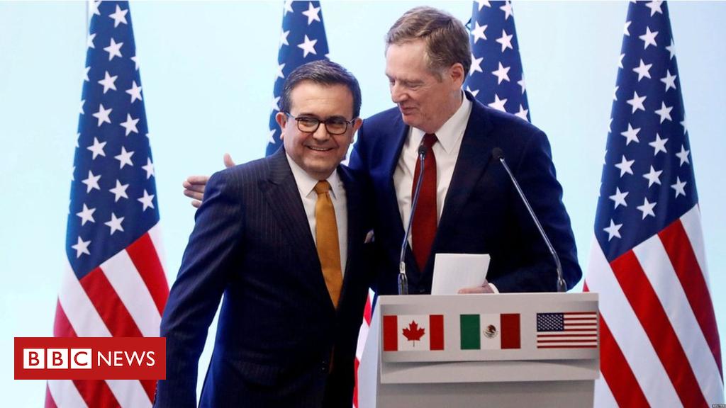 103190036 hi048560434 - US-Mexico reach NAFTA breakthrough