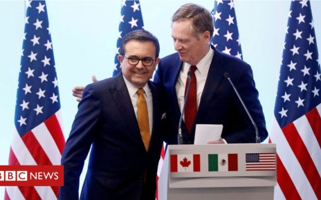 103190036 hi048560434 - US-Mexico reach NAFTA breakthrough