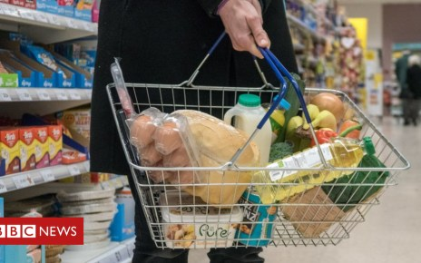 103205522 supermarket grocery shopping - UK shop prices 'rise for the first time in five years'
