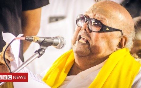 89658260 dsc 0781 - M Karunanidhi: Veteran Indian politician dies at 94