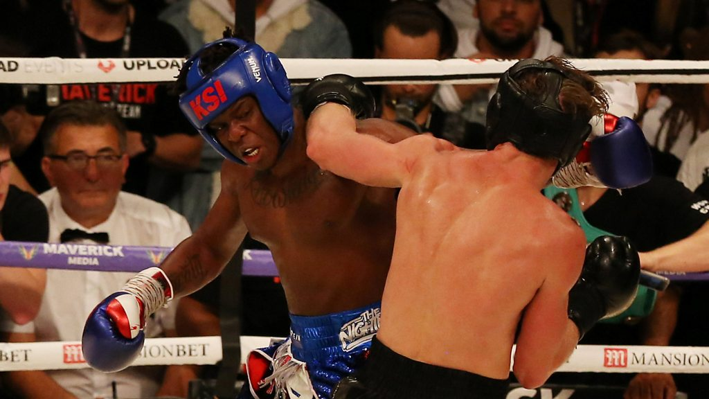 p06jnn2y - KSI: Logan Paul fight shows 'how talented YouTubers are'