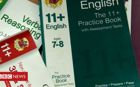 103226777 practicebooks - Kent County Council confirms review on 11+ coaching ban