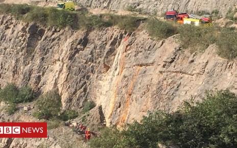 103318626 d58bf48c 521e 427e b89e 0b0431248e2d - 'Disorientated' crash victim falls into quarry in Yate