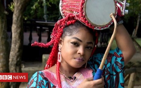 103402341 p06kzjkx - Ara Thunder on being a 'talking drum' player in Nigeria