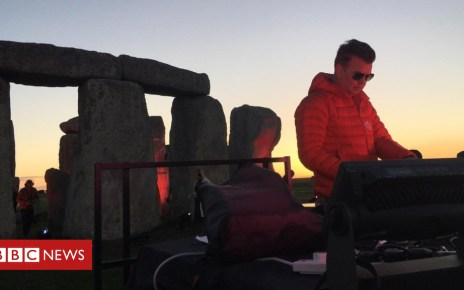 103418981 mediaitem103418977 - DJ Paul Oakenfold plays set at Stonehenge