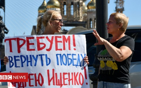 103461719 rusishreut17sep - Russian communist hunger strike over 'rigged' far east vote