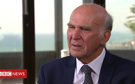 103468230 p06lfr8q - I'll be around for quite a long time - Vince Cable