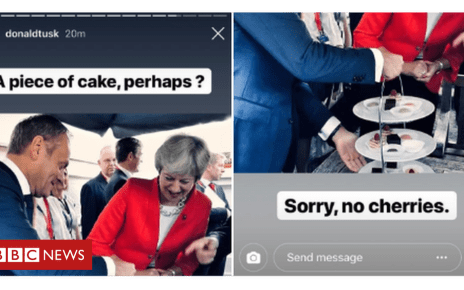 103524791 tusk - Brexit: What's behind Donald Tusk's Instagram diplomacy?