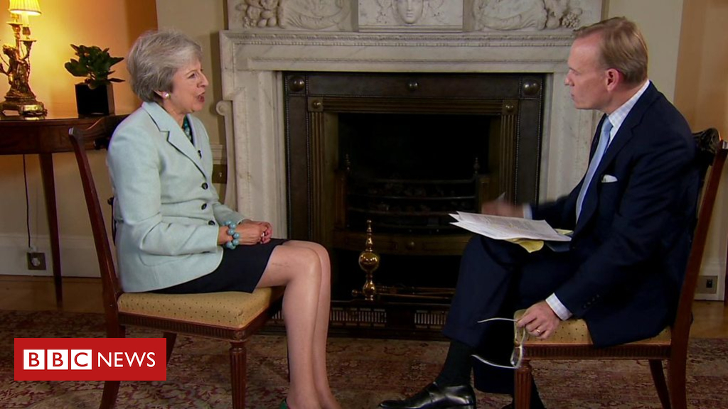 103556196 p06m0t4d - Does Theresa May trust Donald Trump?