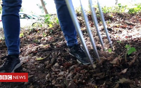 103562217 p06m1v84 - Birmingham residents boost fitness with forks, rakes and spades