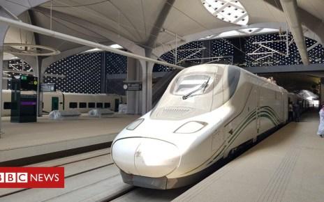 103571360 mediaitem103571359 - Saudi Arabia opens high-speed railway linking holy cities