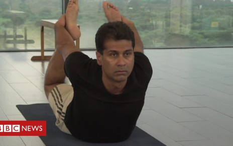 103583301 p06m628z - India's 'king of motorbikes' shares yoga tips for success