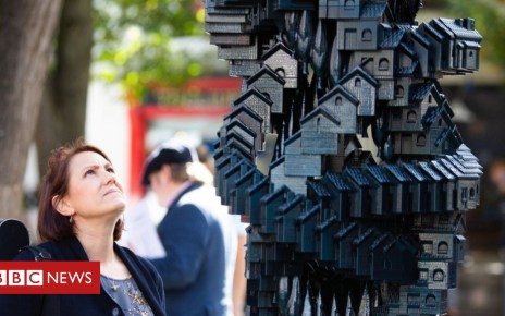 103604548 token - Token Homes: The sculpture that sums up the housing crisis