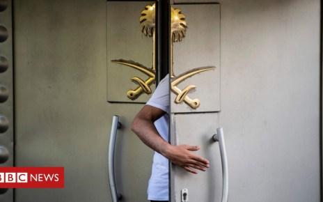 103766348 90817c9d 661d 400d 8dc0 0267b816428b - Jamal Khashoggi: Turkey 'wants Saudi consulate search for missing man'
