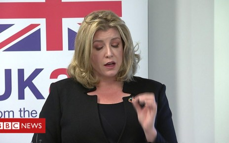 103782862 p06nd74y - Does Penny Mordaunt back May's Brexit plan?