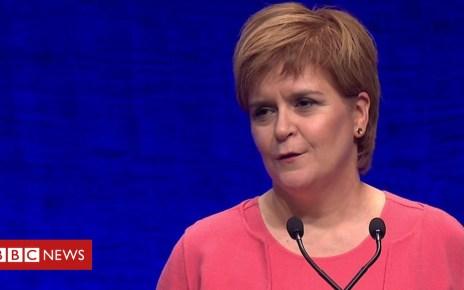 103785678 p06nd9kc - SNP conference: Nicola Sturgeon on Scottish independence