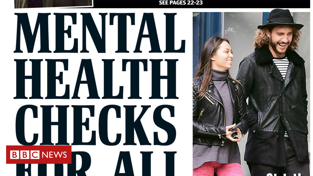 103788925 mail10oct - Newspaper headlines: Mental health checks for primary pupils