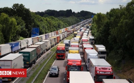 103823015 operationstack pa - No-deal Brexit planning shuts M26 overnight