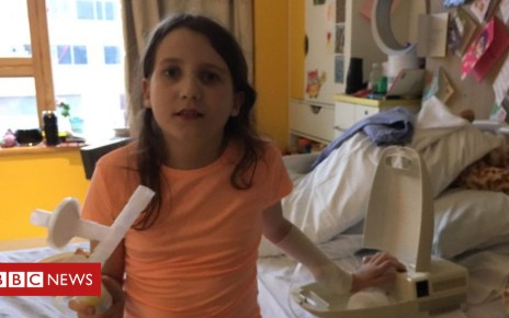 103840900 p06ncy0v - A day in the life of a 10-year-old patient at Alder Hey