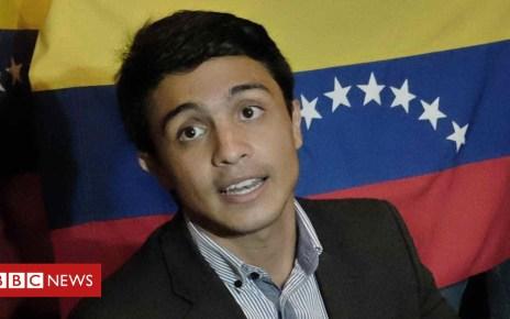 103846264 6d0fc33c a04e 48c1 9a2a a522ef980072 - Venezuela 'frees Lorent Saleh amid suicide concerns'
