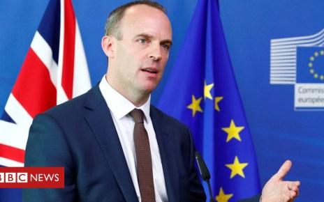 103863582 hi048777704 - Brexit: UK can still make progress in talks - Downing Street