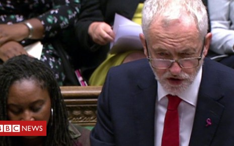 103902834 p06p397g - Corbyn to May: Is Chequers plan dead?