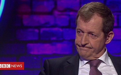 103928534 p06p9s8d - Alastair Campbell on Iraq and Brexit marches and numbers
