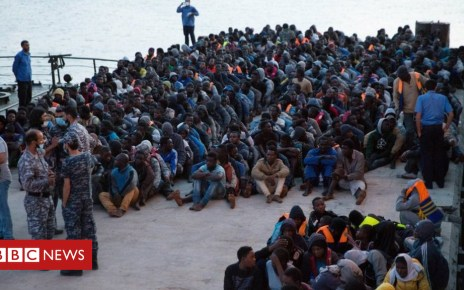 103933386 040910999 - Migrant crisis: Libya opposes EU plan for centres, says minister